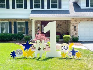 #1 Dad Sign Rental Package