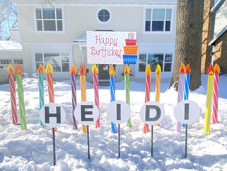 15 candles with Birthday Cake Topper