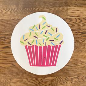 Pink Cupcake - Medium