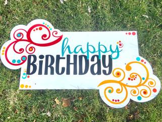 Birthday Swirl Topper
