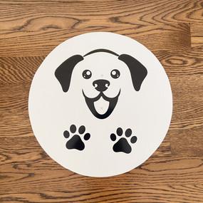 Happy Puppy - Medium