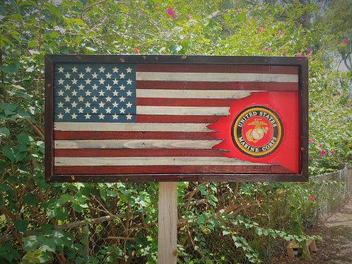 USA/USMC Tattered
