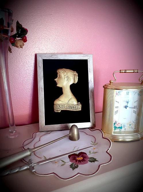 Jane Austen Profile (Bronze Colour)
