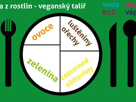 Síla z rostlin - veganský talíř