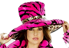 Pink Oracle Pimp Hat