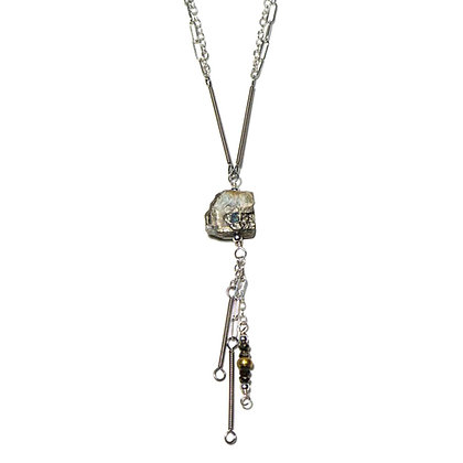 BouldER Pyrite Necklace Short