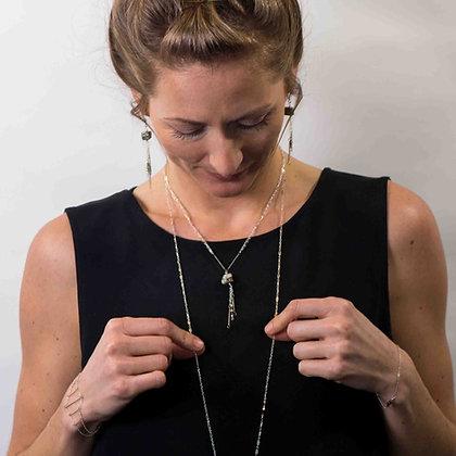 Boulder Gemstone Necklace Short