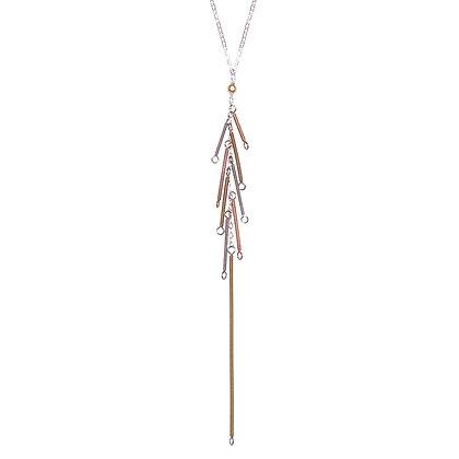 Long Paradise Pine Necklace