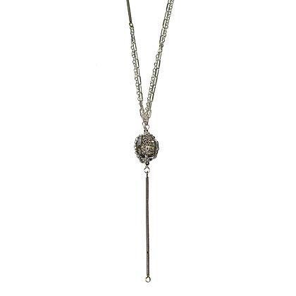 BouldER Pyrite Necklace