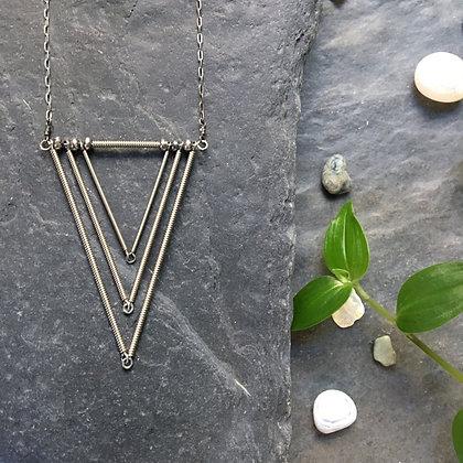 Short Framed Necklace