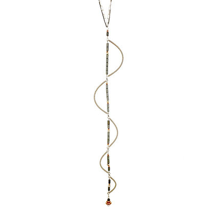 Long Sine Necklace