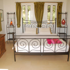 Five double rooms