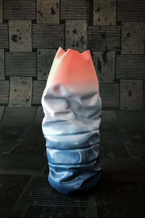 #littering vase objekt. TRIPLE blue