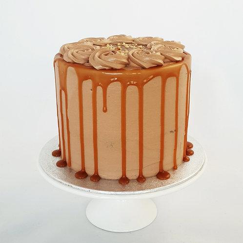 Choc & Caramel Cake