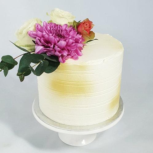 Fabulous Flowers Buttercream Cake