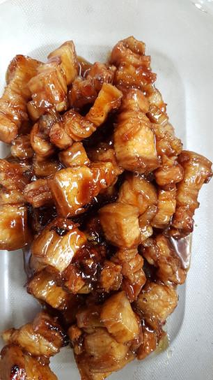 Porc au caramel (Moo Wan)