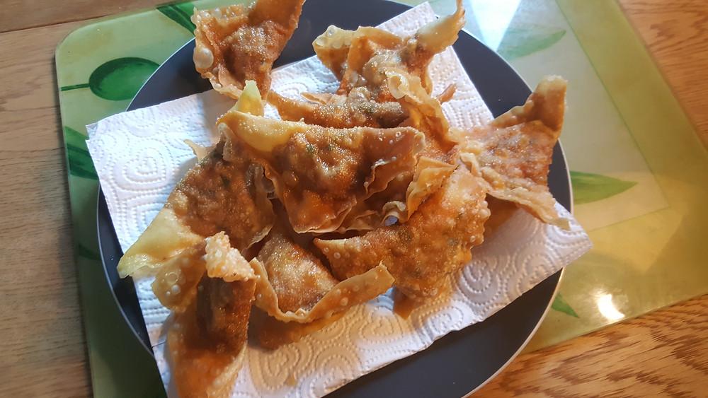 raviolis chinois frit