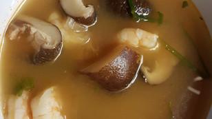 Tom yam kung (Soupe de Crevette)