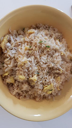 Riz sauté au crabe (Khao Phad Poo)