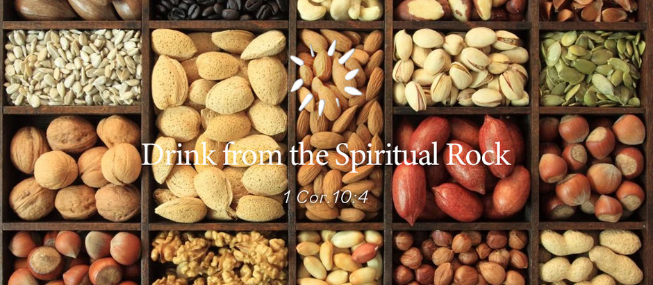 Drink from the Spiritual Rock