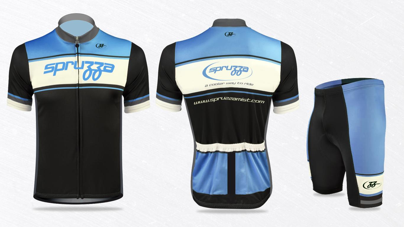 Spruzza Mist Cycling kit