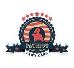 patriot lawn care logo vintage-01