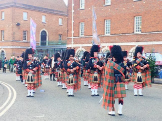 The Rose & Thistle Pipes and Drums