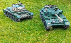 We have tanks!