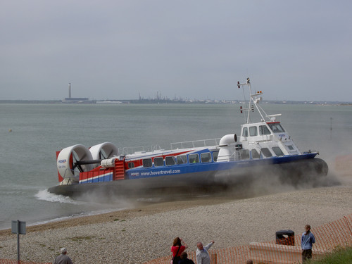 Lee on the Solent Hovercraft PICT9813 (1