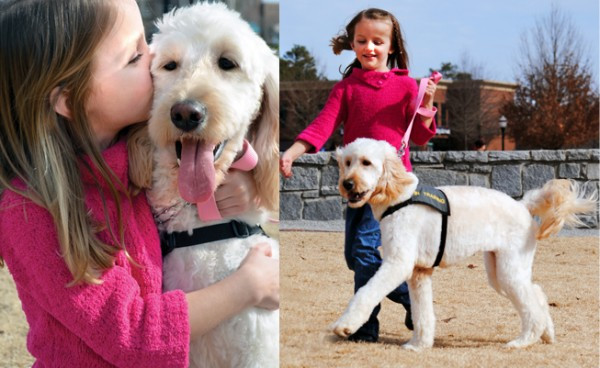 Meaghan and Her Service Dog