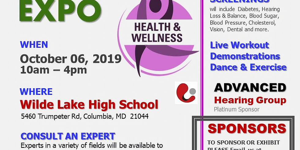HOWARD COUNTY HEALTH EXPO, Free event for the whole family!