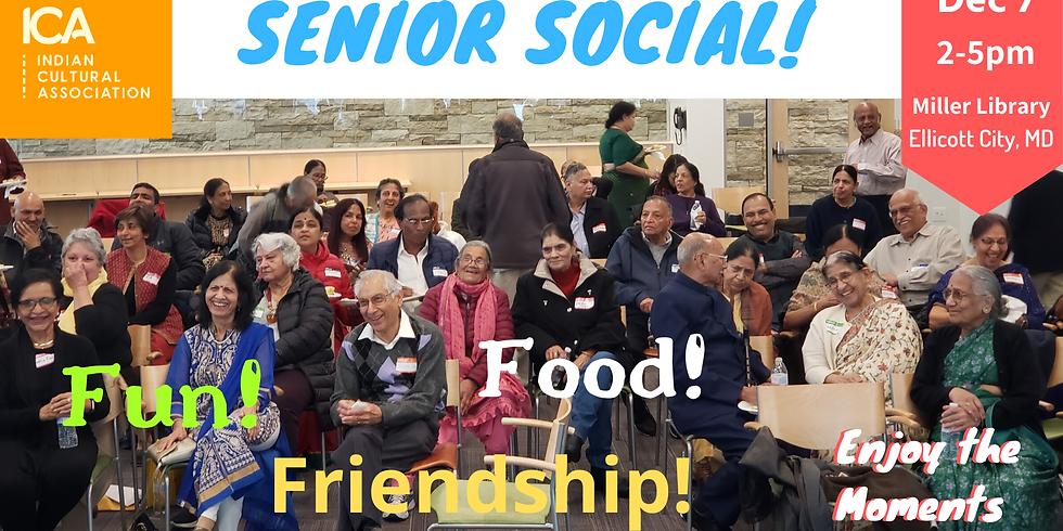 Senior Social - December 2019