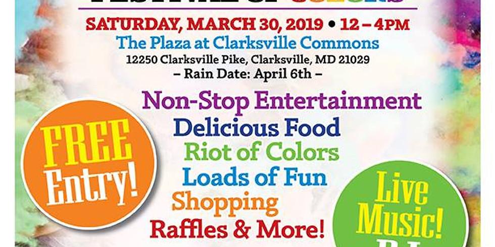 Holi Festival at Clarksville Commons