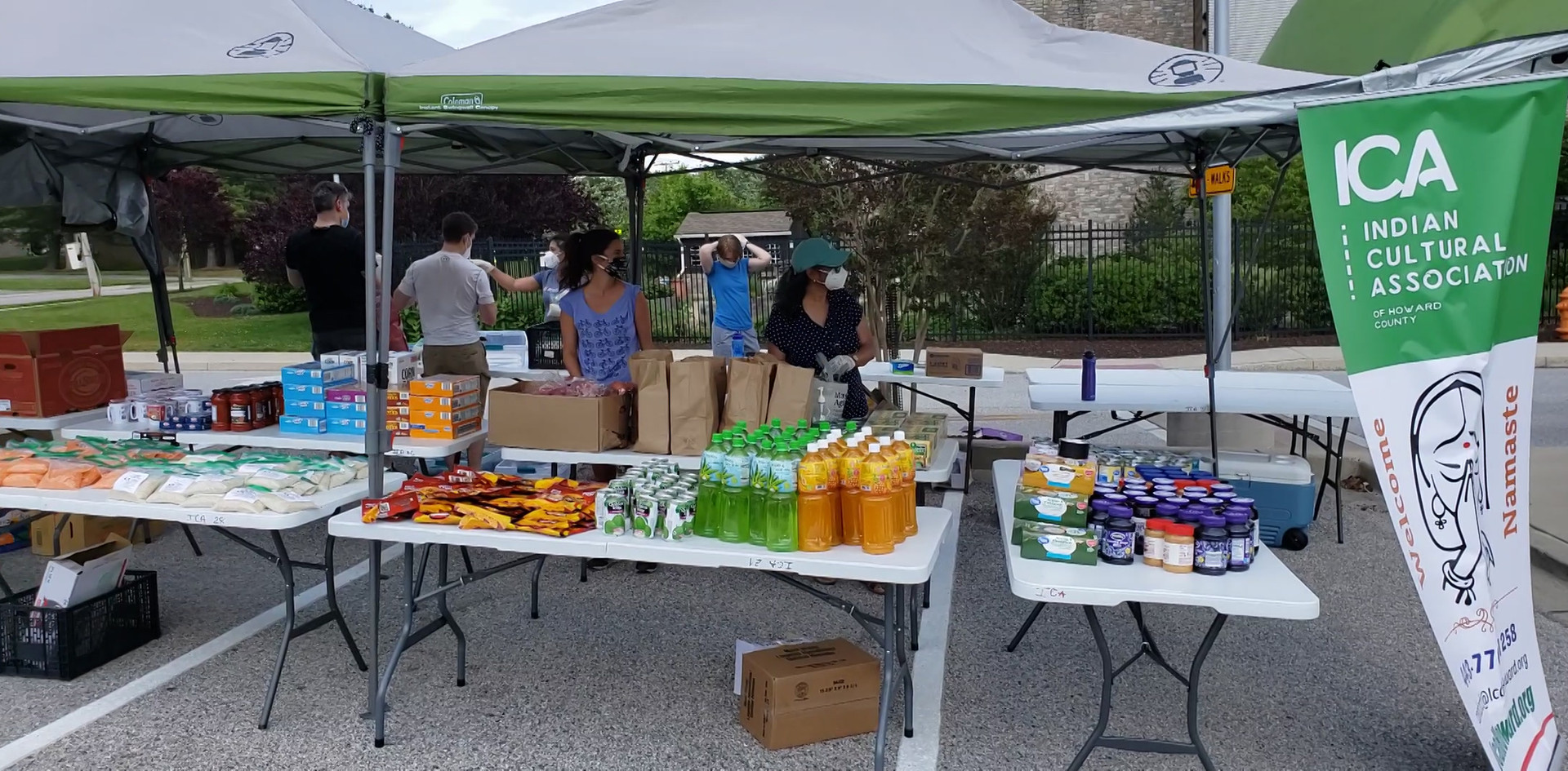 Miller Library - Feeding the Hungry