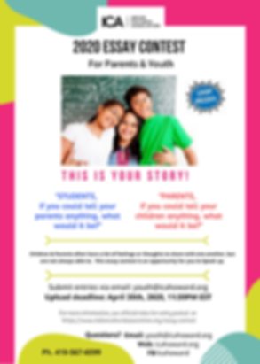 Essay Contest MH Flyer Students & Parent