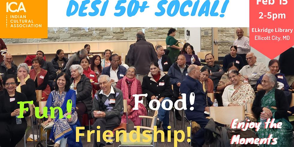 DESI 50 Plus Social - February 15th, 2020