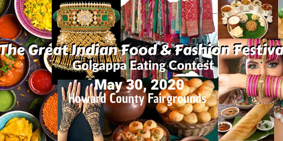 Great Indian Food & Fashion Festival - Golgappa Eating Contest!