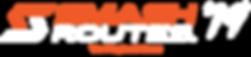 Smash Routes 19 Logo (Orange & White + T