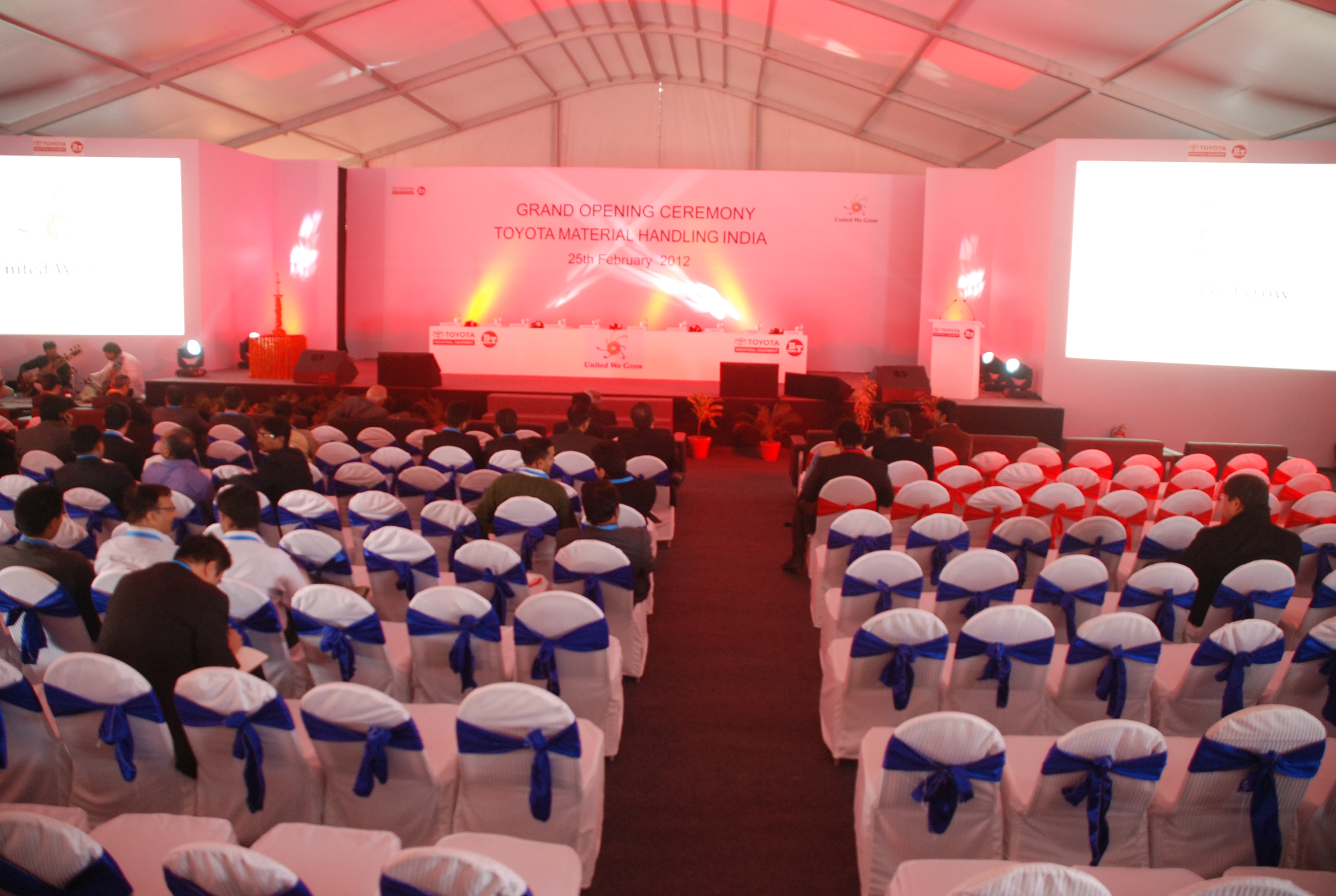Toyota Factory Launch
