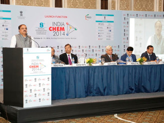 Launch Event of India CHEM 2014 International Exhibition & Conference