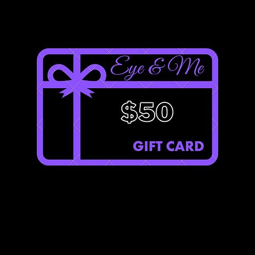 Gift Card $50