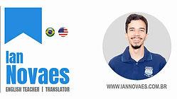 Ian Novaes Professor/Tradutor