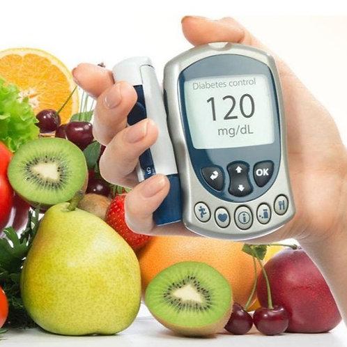Diabetes, Intervenção Nutricional (EAD, aulas gravadas)