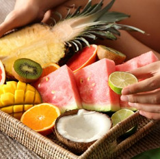 Alimentos ricos em água para comer à vontade no verão