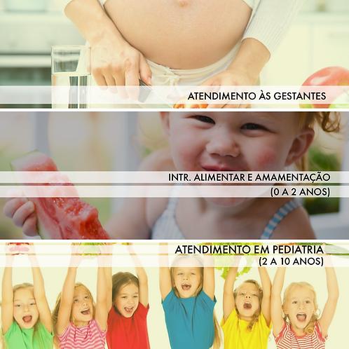 Pacote Materno Infantil com 3 cursos (100% EAD)