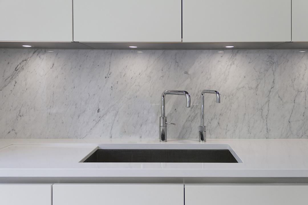 Queens Park - Marble Kitchen