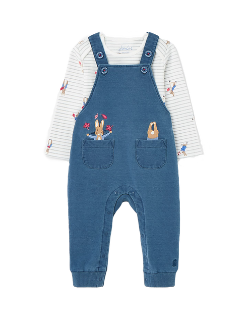 Tom Joules Baby Latzhose & Body