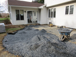 Prepping for the Pavers