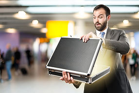 Business person with a briefcase.
