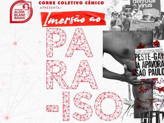 Lives na Imersão ao PARA-ISO abordam estatísticas e arte-expressões de corpos com HIV/AIDS
